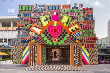 1-Temple of Agape, Morag Myerscough & Luke Morgan, phto Gareth Gardner