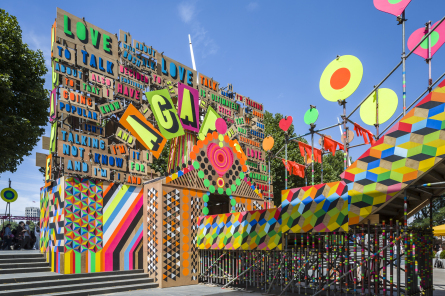 4-Temple of Agape, Morag Myerscough & Luke Morgan, phto Gareth Gardner