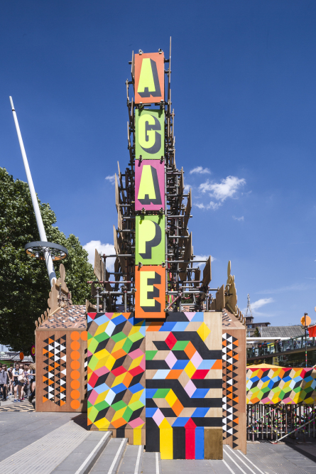 8-Temple of Agape, Morag Myerscough & Luke Morgan, phto Gareth Gardner