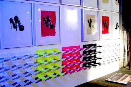shoe prints by luke morgan